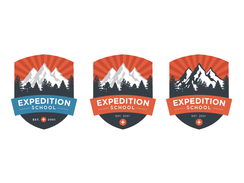 Expedition School Logo Ideas