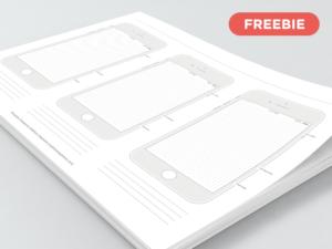 Printable iPhone 7 Templates