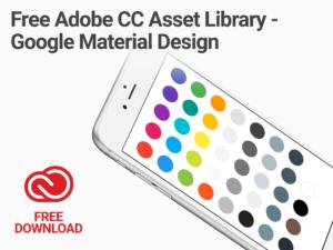 Adobe CC Library Google Material